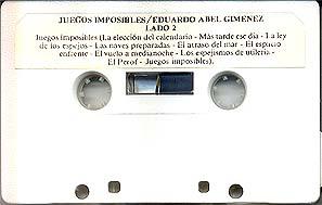 Lado 2 del cassette