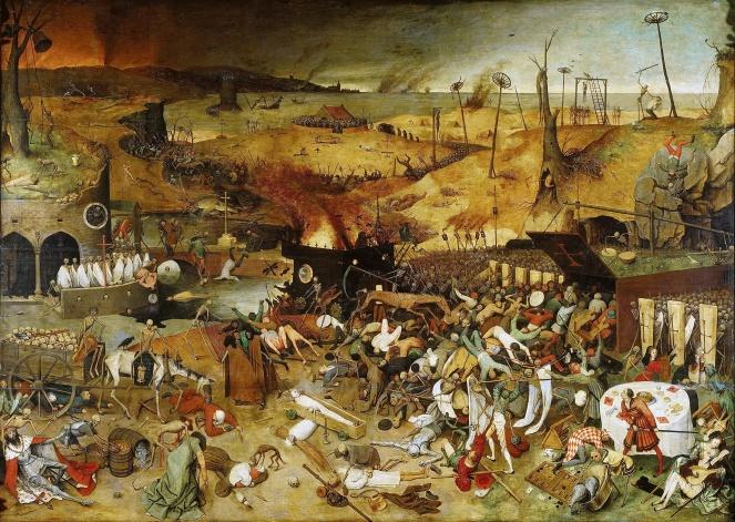 3 Revueltas Potterianas Brueghel el viejo, El triunfo de la muerte