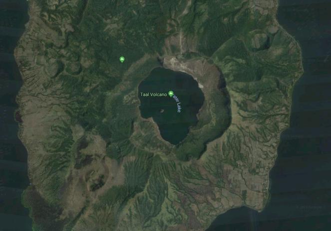 3 Lago del cráter