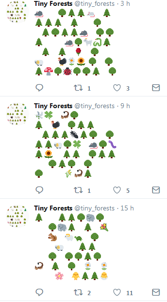7 Tiny Forests
