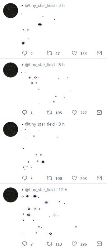 7 Tiny Star Field