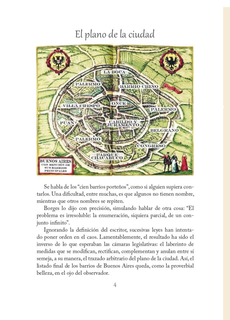 El plano de la ciudad